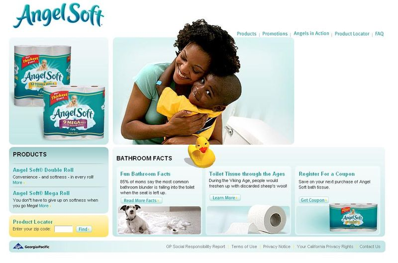Angel Soft Bath Tissue